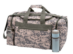 Camo Duffel bag with military imprint