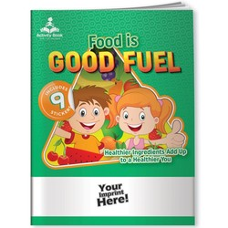 Activity Book w/ Fun Stickers - Food is Good Fuel