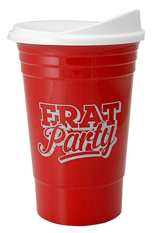 The Cup ™ - 16 oz. Double Wall Insulated Party Plastic Cup