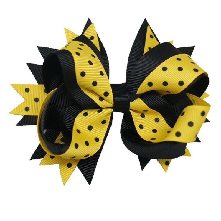 Hair Bow with Barrette Clip