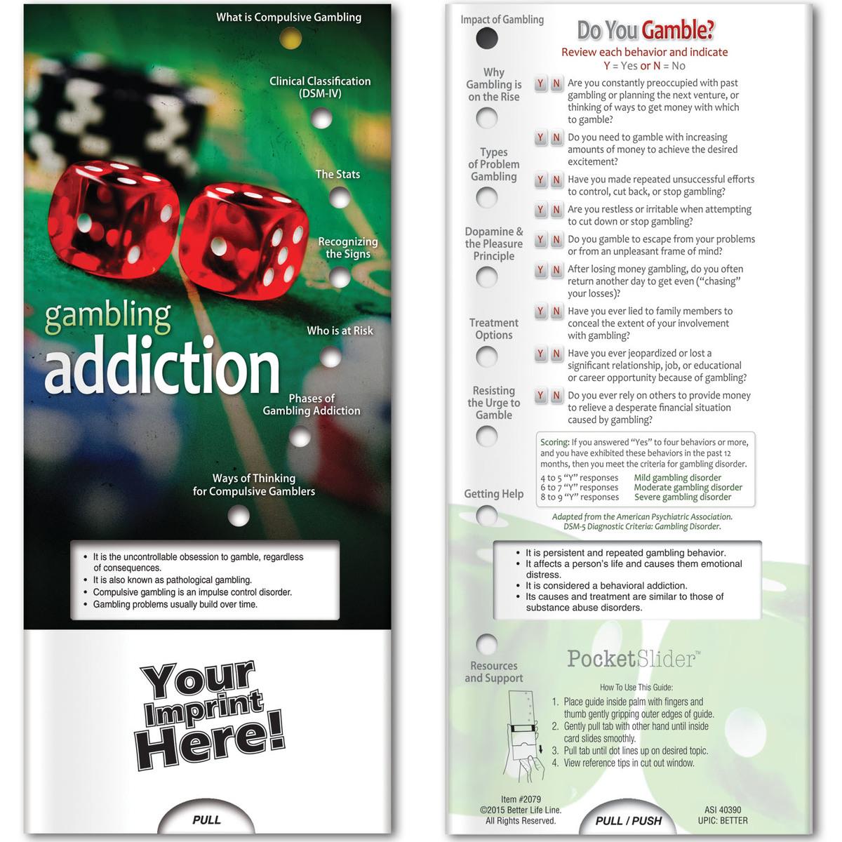 Pocket Slider - Gambling Addiction