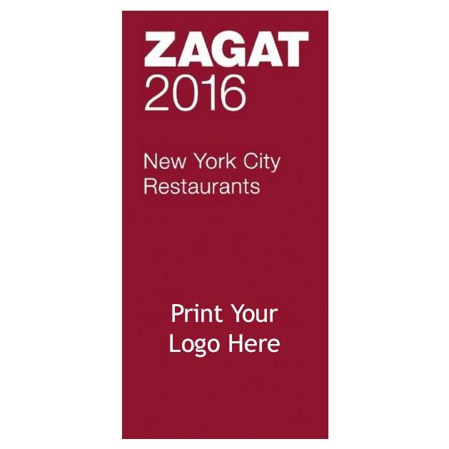 Custom Printed Zagat Guides: 2016 New York City Restaurants