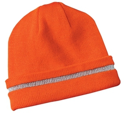 CornerStone - Safety Beanie with Reflective Stripe.