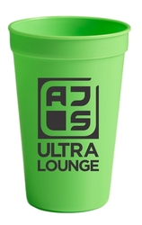 17 oz. Plastic Stadium Drink Cup
