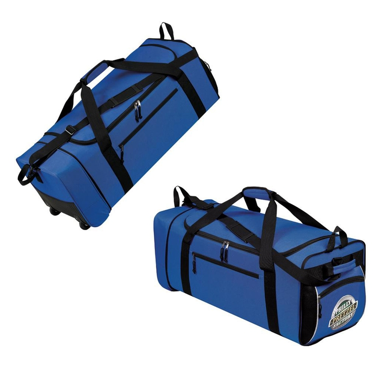 600D Polyester- 32 Expandable - Wheeled Duffle