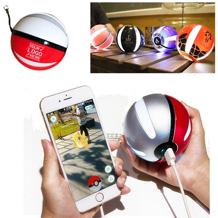 Pokemon Go Ball USB Portable Dual Charger