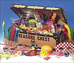 Choice Toys in a Chest
