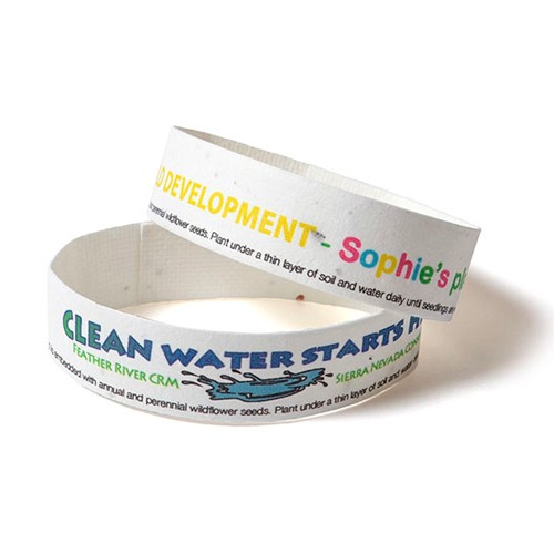 Seed Paper Wristband (SPWB)