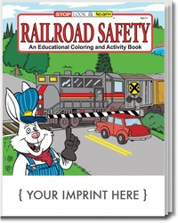 COLORING BOOK - Railroad Safety Coloring & Activity Book - Coloring Book