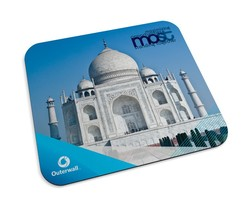 Recycled Mouse Pad (Antimicrobial properties built in to protect the product from odors and stains)