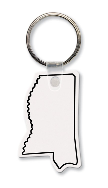 Key Tag - Mississippi - Spot Color