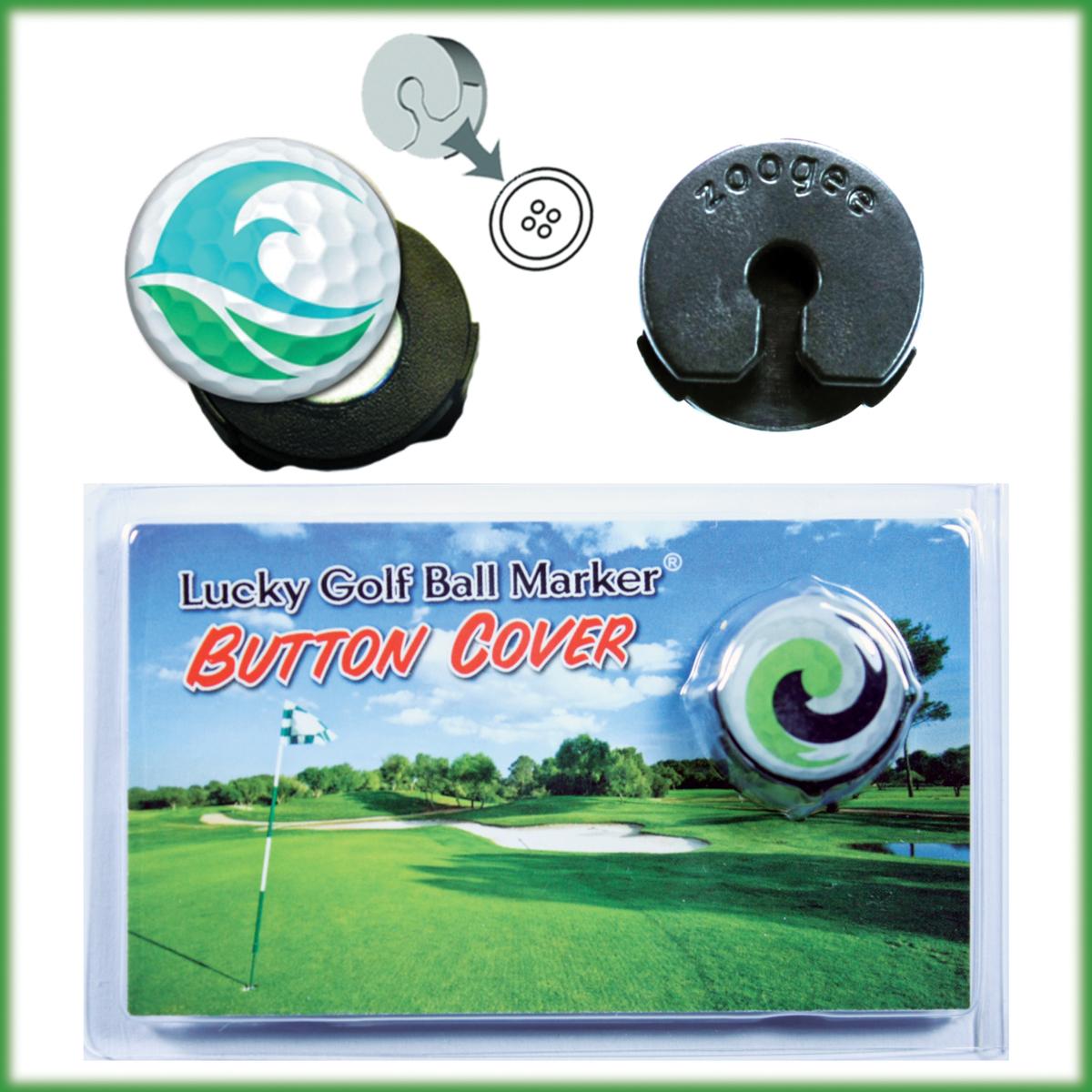 Custom Golf Ball Marker / Magnet Button Cover