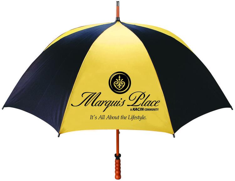 The Eagle - Sporty wood-shaft golf umbrella