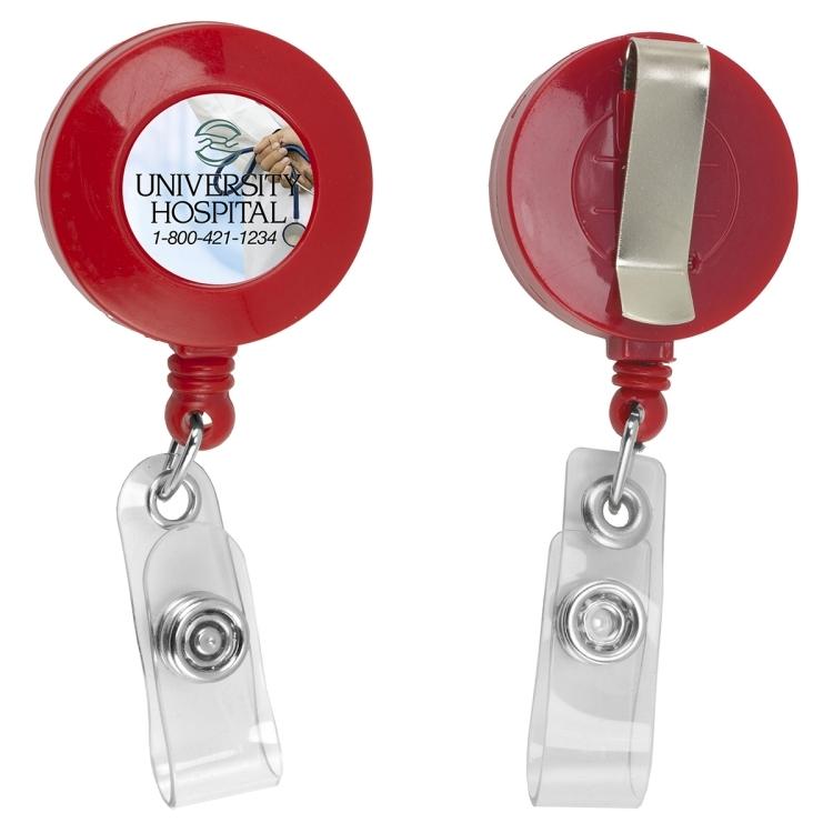 Lorain VL 30 Cord Round Retractable Badge Reel and