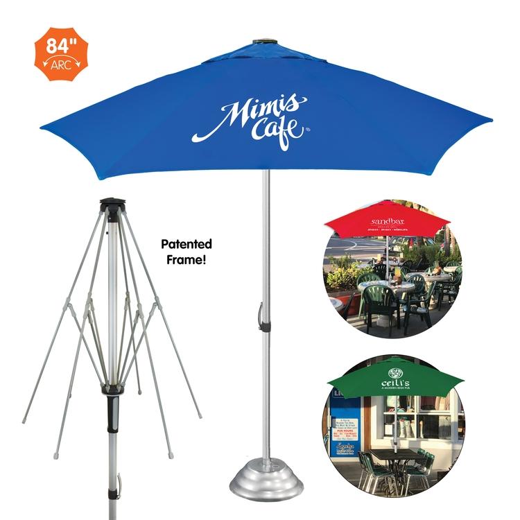 The Vented Cafe Market Patio Umbrella    Commercial Quality