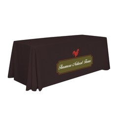 6' Standard Table Throw (1-Color Imprint)
