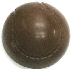 CHOCOLATE BASEBALL HALF LARGE