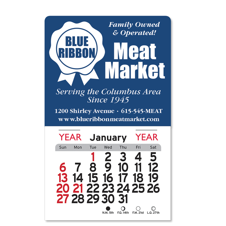 Billboard Peel-N-Stick&8482 Calendars