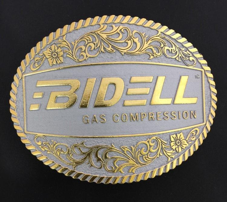 4 Antique Finish Custom Cast Belt Buckle