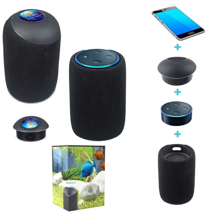 echo dot wireless bluetooth speaker charger plus bd. Black Bedroom Furniture Sets. Home Design Ideas