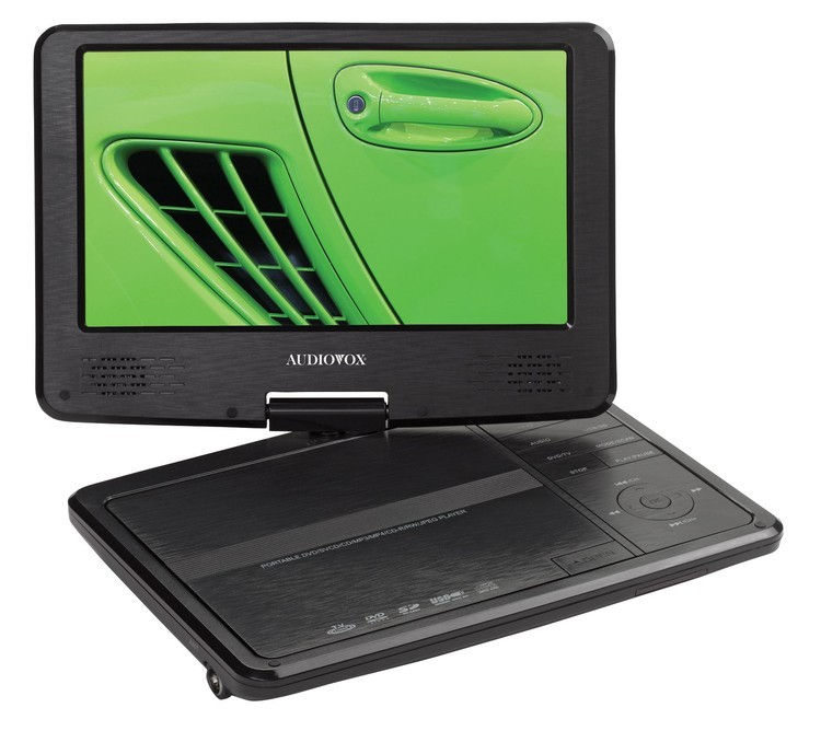 Audiovox Portable 9 Swivel DVD Player