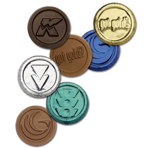 Custom Chocolate Foiled Coins