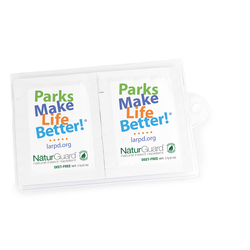 GoPac with Herbal Armor Insect Repellent Wipes, Label Imprint