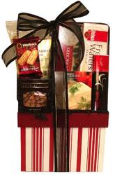 Wine Caddy Assortment - holiday food gift basket