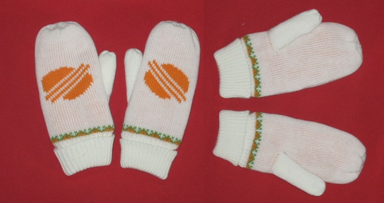 Acrylic Knitted Winter Mittens/Gloves