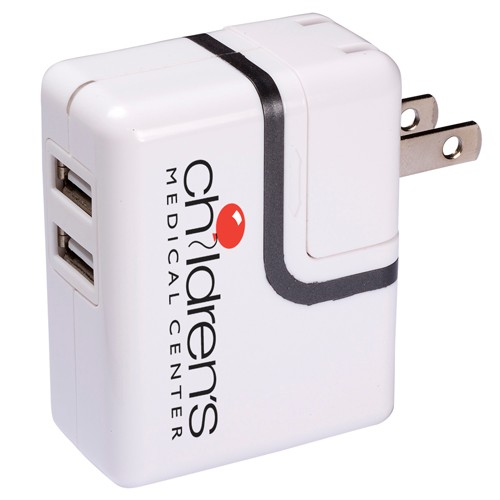 Dual Usb Port Ac Mobile Charger - CLEARANCE