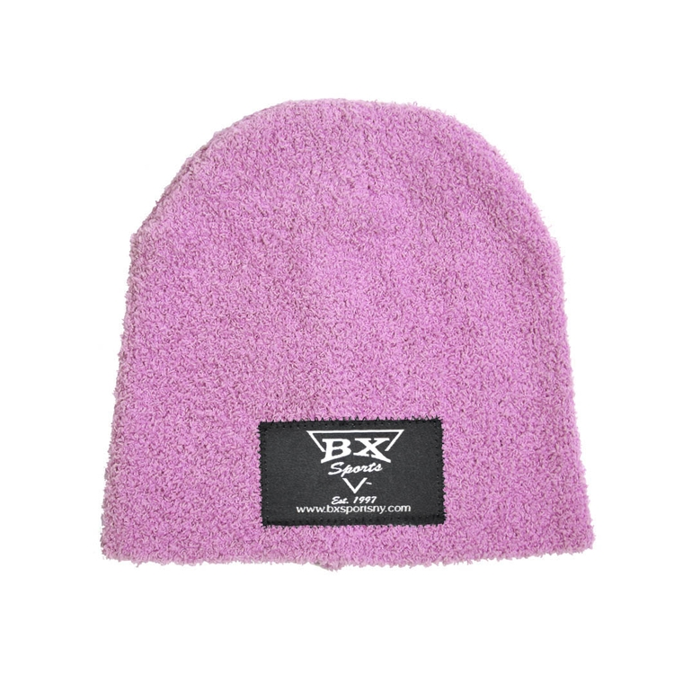 Fuzzy Cap with Woven Label
