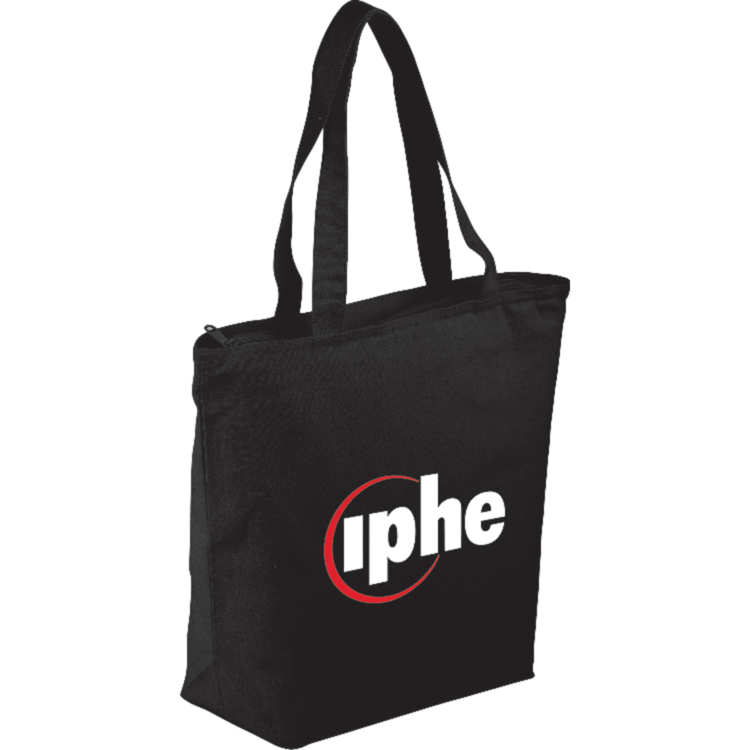 The Maine Zippered Cotton Tote