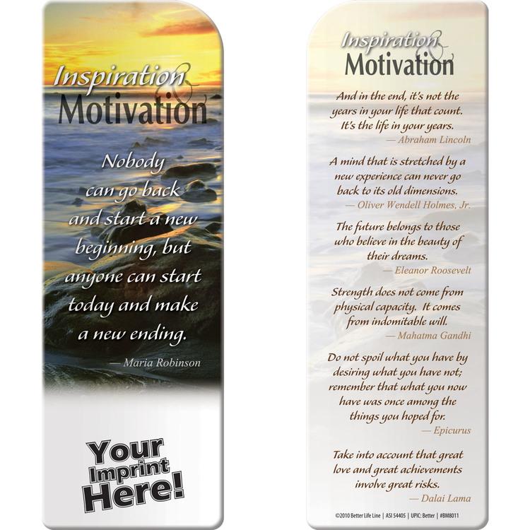 Bookmark - Inspiration and Motivation