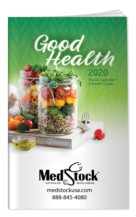 2018 Good Health Pocket Calendar