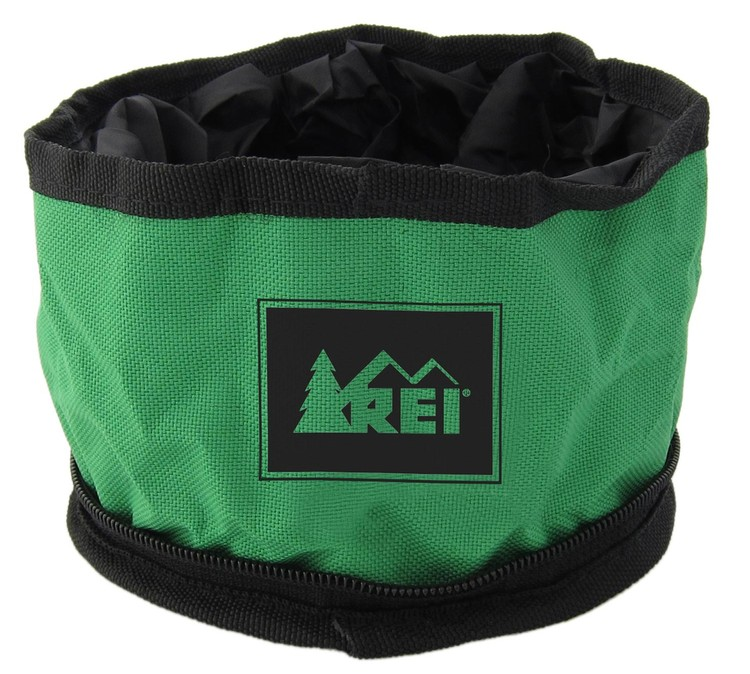 Zippered Pet Food Travel Bowl - 1-color Imprint