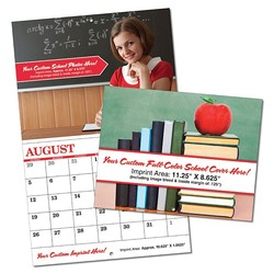 Custom 13-Month School Appointment Wall Calendar - High Gloss UV Coated Cover