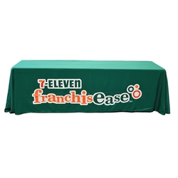8Ft Dye Sublimated Loose Table Throw