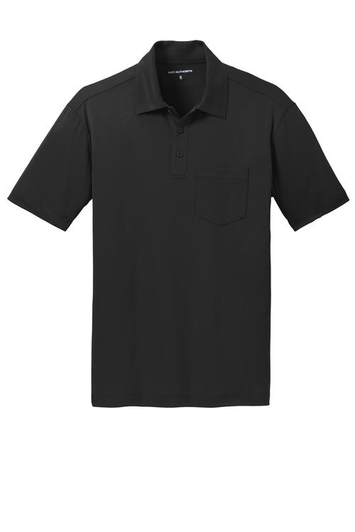 Port Authority Silk Touch Performance Pocket Polo.