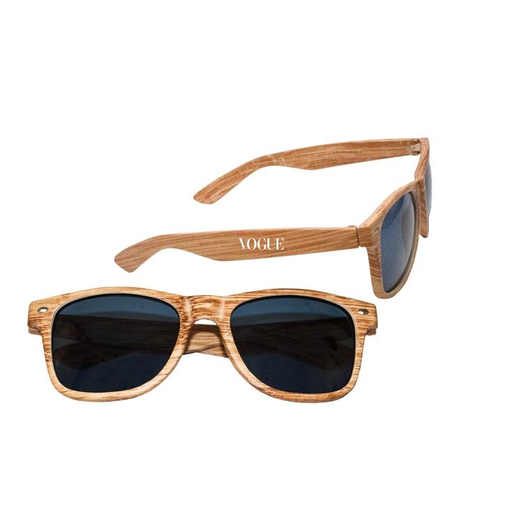 7b9770eab8e31 Faux Wood Frame Sunglasses - SG001W