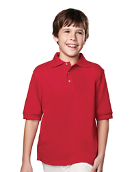 Youth 60/40 short sleeve pique golf shirt. - ELEMENT YOUTH