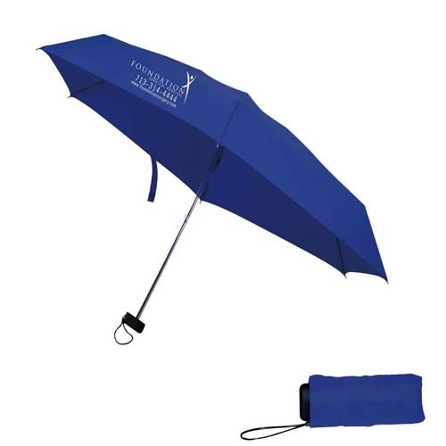 40 Inch Mini Manual 2 Fold Umbrella SALE