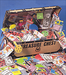Popular Toys in a Chest
