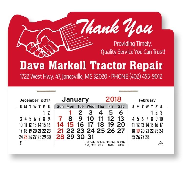 Mega Peel-N-Stick&8482 Calendars-Thank You