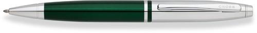 Calais Green/Chrome Ball Point Pen