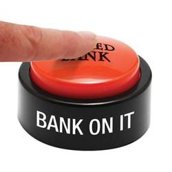 Micro Sound Desk Button - White Micro Sound Desk Button