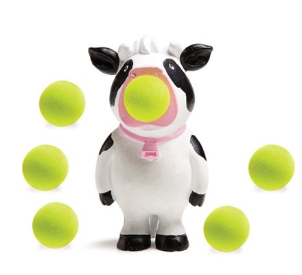 Cow Popper Toy / cows / barnyard / animal / animal theme / farm / farm animal