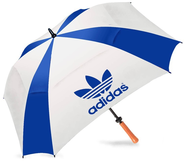 62 Inch Fiberglass Vented Square Golf Umbrella SALE $11.49 Until September 30, 2017