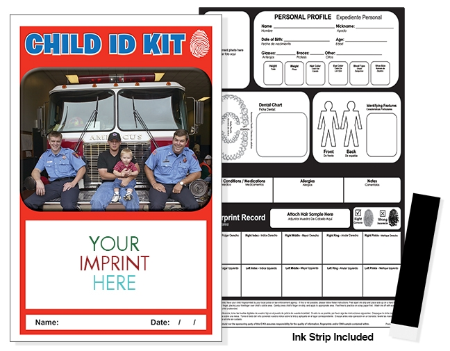 CHILD ID SAFETY KIT - Fire