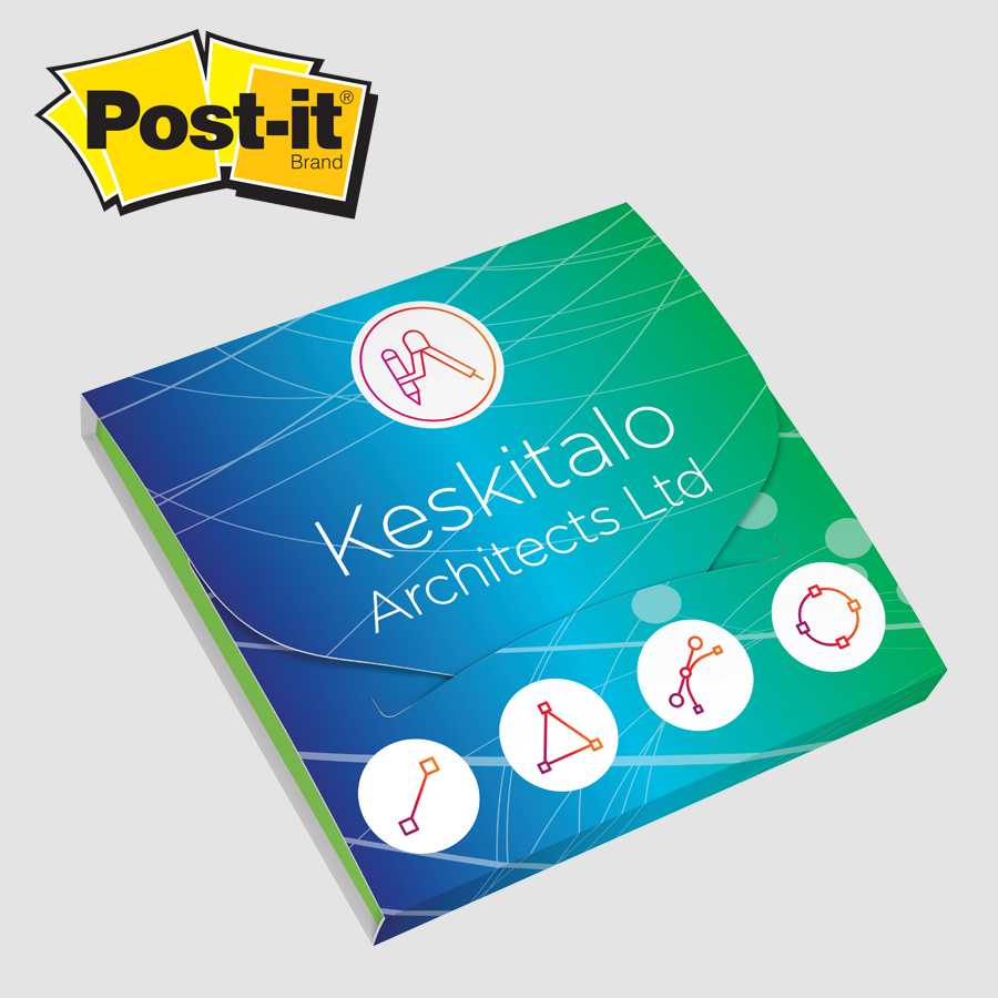 Post-it® Extreme Notes With Cover - PC33EF