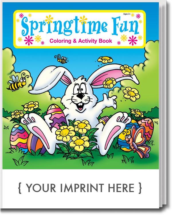 COLORING BOOK - Springtime Fun Coloring & Activity Book